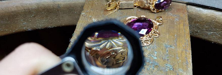 évaluer la valeur d'un bijou