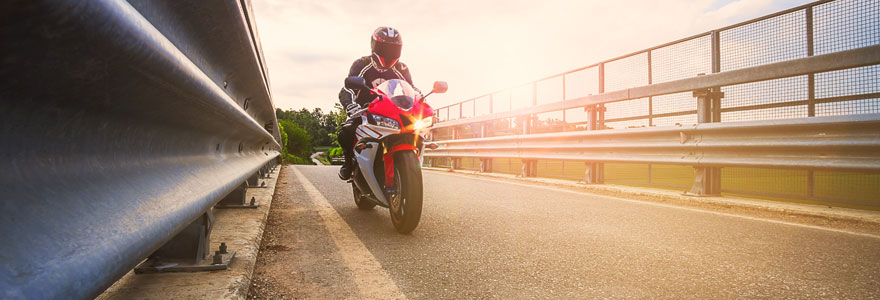 faire de la moto